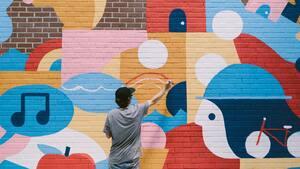 Image principale de l'article Une série de murales «post-COVID» voit le jour