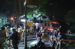 Montréal : Un incendie force l'évacuation de cinq familles dans Westmount