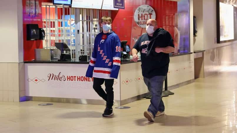Rangers: les spectateurs scrutés à la loupe