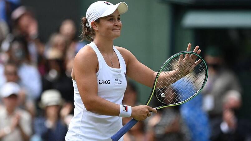 Wimbledon: Barty en finale pour la première fois