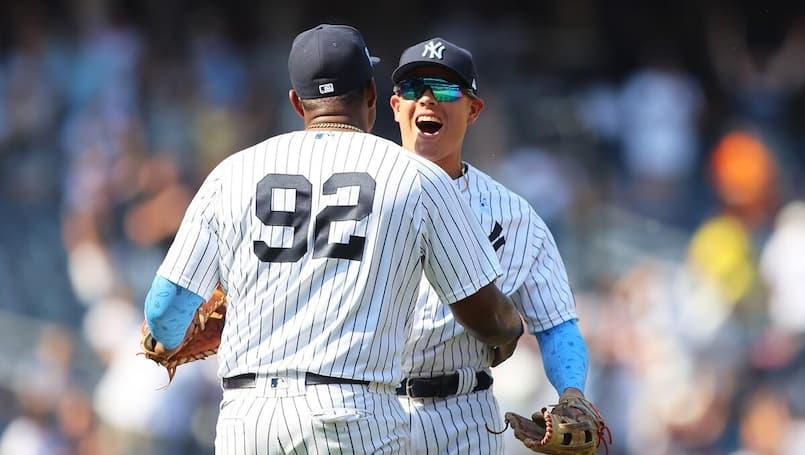 Une fin de match absolument spectaculaire des Yankees