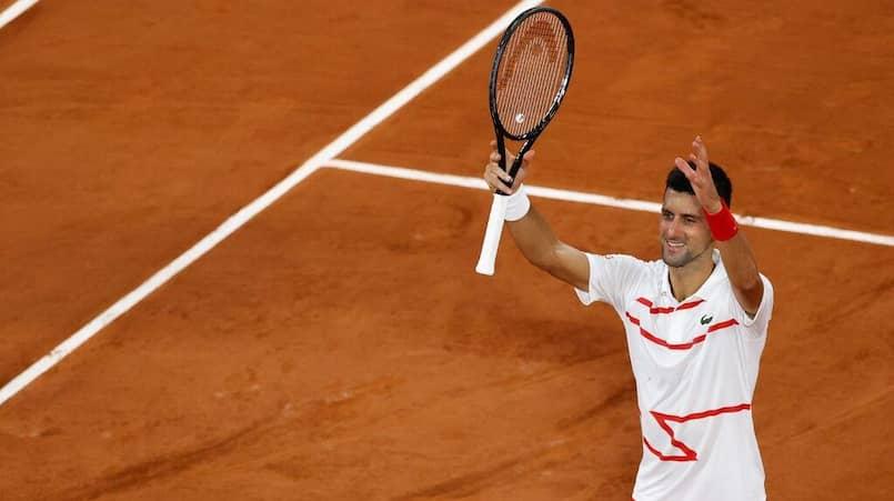 Roland-Garros: Djokovic dominant à son entrée en scène