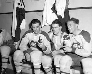 Au milieu des années1950, l'entraîneur du Canadien, Toe Blake, réunit sur la même ligne d'attaque les deux frères Richard, Maurice et Henri, ainsi que Dickie Moore.