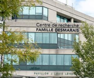 Devanture Institut de Cardiologie + Pavillon Desmarais