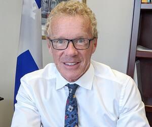 Le ministre du Travail, Jean Boulet, mise sur la formation pour