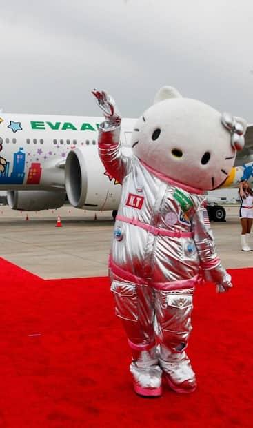 Image principale de l'article Un avion Hello Kitty pour nulle part