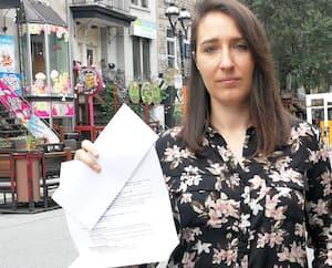 TeressaHernandez-Truesdell a dû laisser tomber son emploi de rêve en raison de la pandémie. Elle est devenue serveuse, mais elle n'a pas pu joindre les deux bouts. La jeune femme de 27ans s'est alors tournée vers la Prestation canadienne d'urgence.
