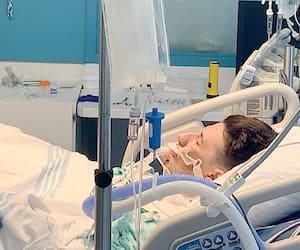 Cédrick Dufour-Gosselin est dans un coma artificiel à l'hôpital pour ne pas trop souffrir.
