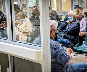 Les 25 pires urgences du Québec sont listées ici selon la durée moyenne de séjour à l'urgence (2020-2021), qui est l'une des variables évaluées par le MSSS pour juger de la performance. Sur la photo, l'urgence de l'hôpital de l'Enfant-Jésus, à Québec.