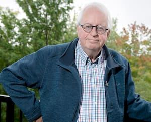Le journaliste retraité Michel Augerréalise encore aujourd'hui à quel point il a été chanceux de survivre à la fusillade du13septembre 2000.