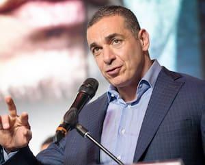 Le promoteur d'EOTTM Camille Estephan, lors d'une conférence de presse, en mars dernier.