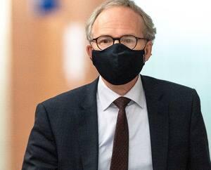 L'ancien ministre Martin Coiteux a témoigné hier au palais de justice de Montréal.