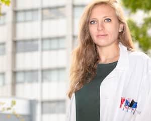 Marine Lingrand a moins souvent accès aux laboratoires de l'Université McGill, à Montréal, en raison de la pandémie, ce qui pourrait étirer la durée de son doctorat en biochimie.