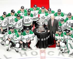 Les Stars sont en mission et je pense qu'ils remporteront une première Coupe Stanley depuis 1999.