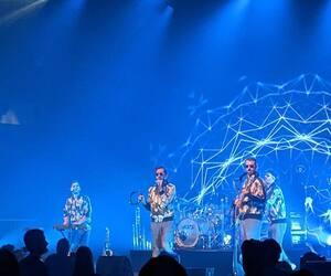 Le groupe Valaire, en concert au Festival d'été de Québec, le 14 juillet 2021.