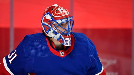 Carey Price reprend son filet