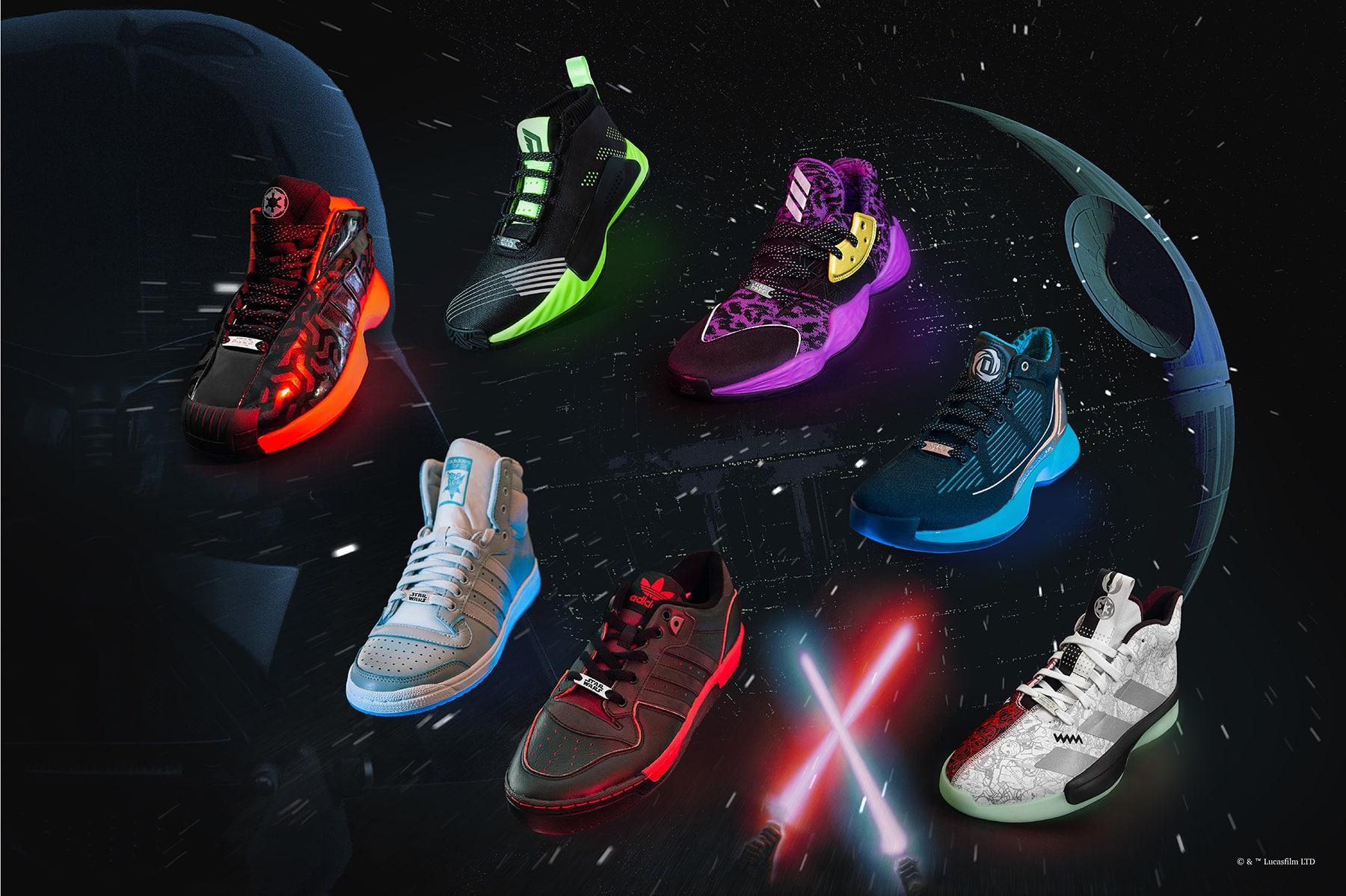 Star Wars X Adidas: découvrez la nouvelle collection de