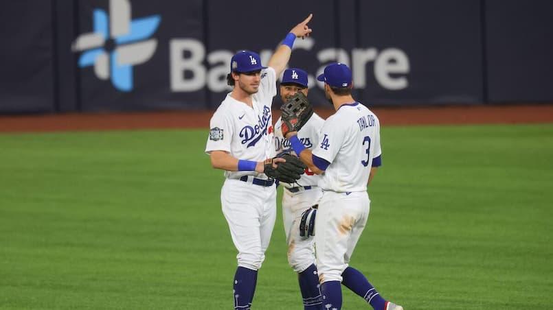 Les Dodgers dominent d'entrée