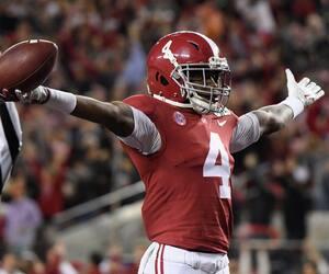 Jerry Jeudy souhaite poursuivre la récente tradition d'excellence des receveurs du Crimson Tide de l'Alabama dans la NFL en tentant de suivre les traces de prédécesseurs tels Julio Jones, Calvin Ridley et Amari Cooper.