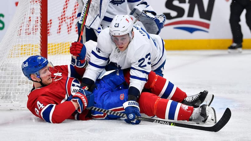 Un joueur du CH attire l'attention des Leafs