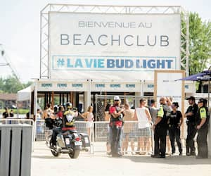 GEN-HELLS ANGELS, CANADA RUN AU BEACH CLUB