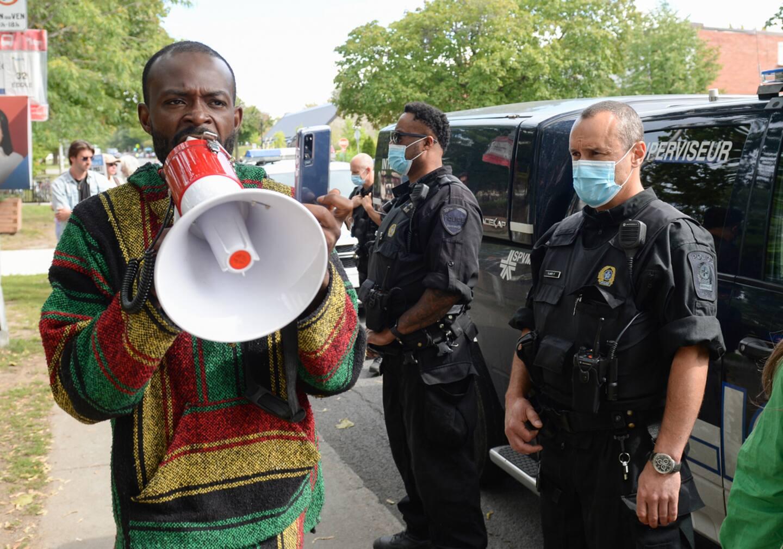 Les manifestations anti-mesures sanitaires seront tenues à distance