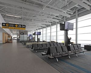 L'aéroport de Québec