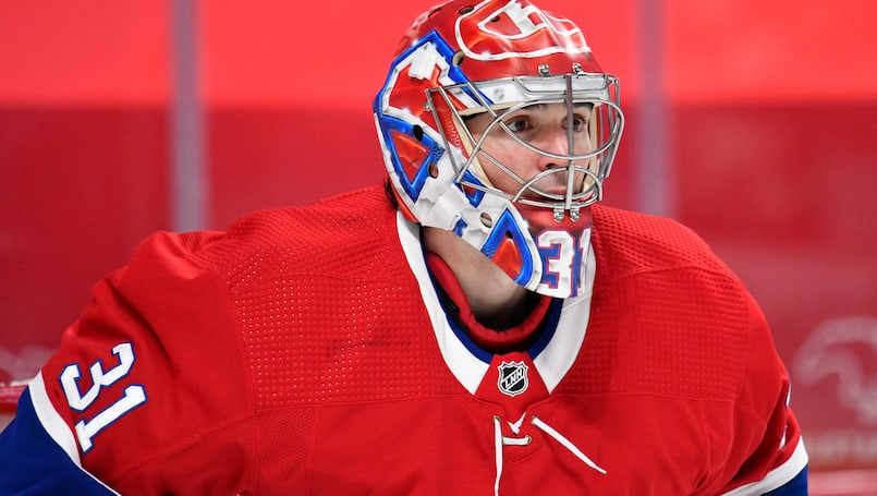 Carey Price sur patins mardi