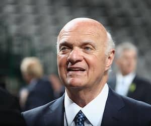 Le président directeur général des Islanders Lou Lamoriello