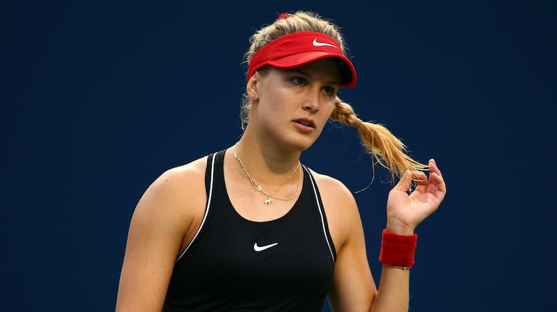 Eugenie Bouchard et le Smash se qualifient