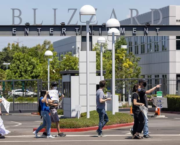 Image principale de l'article La SEC enquête sur Activision Blizzard