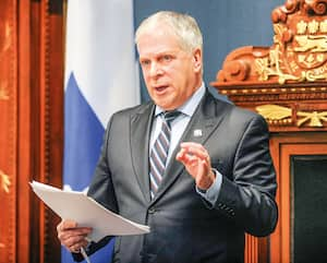 Le président de l'Assemblée nationale, François Paradis, avait ouvert la porte à plus de transparence sur les dépenses des élus.