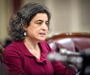 Nadia El-Mabrouk a aussi témoigné lors de consultations publiques sur la Loi sur la laïcité, en mai 2019.