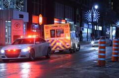 Montréal: un homme blessé par balle au centre-ville