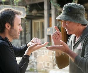 Michel Côté et Louis-José Houde dans De père en flic 2.