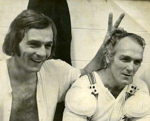 À ses débuts avec le Canadien, Guy Lafleur se nourrissait des conseils prodigués par son capitaine Henri Richard.