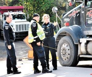 Un arpenteur de 29ans a perdu la vie à Saguenay, jeudi matin, après avoir été happé à côté d'une zone de travaux