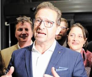 Le chef du Bloc québécois Yves-François Blanchet, lors d'un souper militant en octobre dernier..