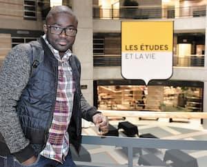 Rencontré au Pavillon Alphonse-Desjardins, Ibrahima Kone a amorcé un doctorat en 2015 à l'Université Laval.
