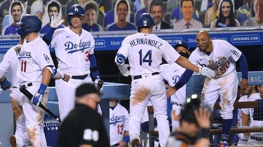 Rare parité dans le baseball majeur