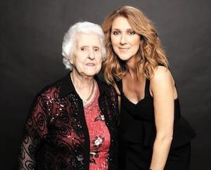 Céline et maman Dion