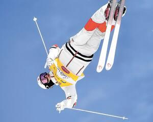 Le roi de la discipline de ski acrobatique, Mikaël Kingsbury, tentera encore d'en mettre plein la vue samedi.