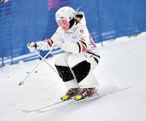 Justine Dufour-Lapointe a la conviction d'avoir livré une solide performance à Mont-Tremblant, samedi.