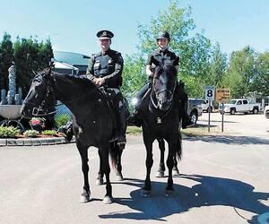 Équipe équestre Mario Bouchard Cavalerie Sûreté du Québec