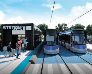 La CSN souligne qu'il y a actuellement six projets de tramway sur la table à dessin au Québec, dont celui de la capitale nationale.