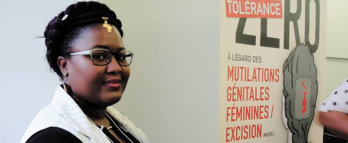 """Résultat de recherche d'images pour """"La Sherbrookoise Zainabou Ouedraogo est bien placée pour recueillir les confidences de femmes ayant subi des mutilations génitales, apprenant elle-même à vivre avec les séquelles de l'excision, tant physiques que psychologiques."""""""