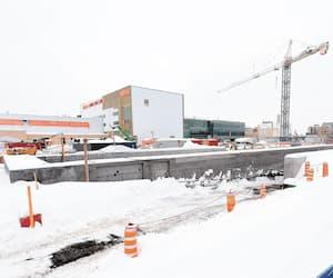 Le mégachantier hospitalier du CHU de Québec-Université Laval, qui est estimé à 1,97G$, doit être complètement terminé d'ici la fin de 2025.
