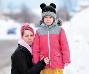 Savie St-Laurent a passé l'heure la plus longue de sa vie alors qu'elle ignorait où sa fillette de 5 ans, Esmée, avait été déposée par son autobus, mardi.