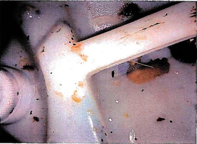 «Il y avait un bidon d'huile à cuisson souillé de résidus alimentaires sur le dessus et quelques excréments de souris», dit le rapport des inspecteurs.
