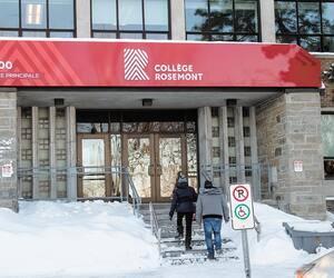 Le cégep de Rosemont, qui mise sur l'accessibilité, accueille plusieurs étudiants au «parcours atypique», indique son directeur général, Denis Rousseau.